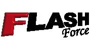 logotipo da linha de capotas marítima flash force