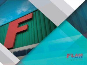 capa do catálogo de produtos flash cover 2016