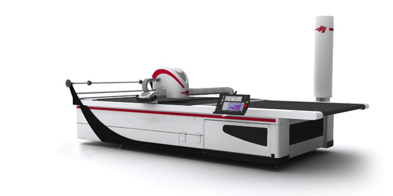 máquina de cortar lona de capotas marítimas