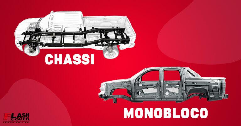 veículomonobloco e chassi tipo longaria