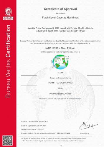 certificação iatf 16949