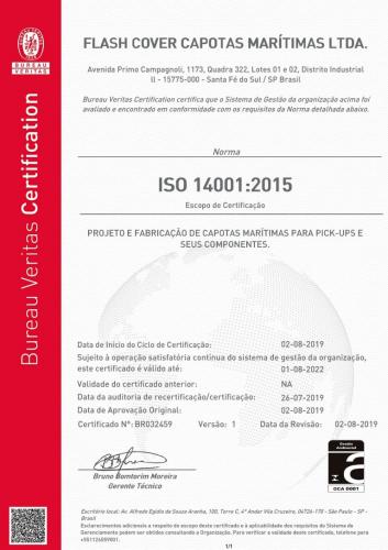 certificação iso 14001